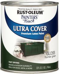 Rust-Oleum® Painter's Touch Gloss Hunter Green Ultra Cover Paint - 1 qt
