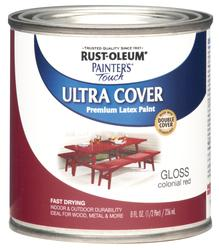 Rust-Oleum® Painter's Touch Gloss Colonial Red Ultra Cover Paint - 1/2 pt