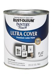 Rust-Oleum® Painter's Touch Flat White Ultra Cover Paint - 1 qt