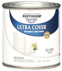 Rust-Oleum® Painter's Touch Gloss White Ultra Cover Paint - 1/2 pt
