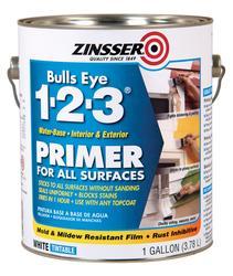 Zinsser® Bulls Eye 1-2-3 Water-Base Primer for All Surfaces - 1 gal.