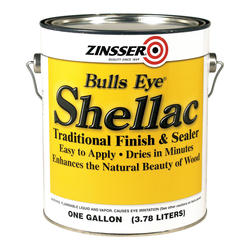 Zinsser® Bulls Eye Traditional Clear Shellac Finish and Sealer - 1 gal.