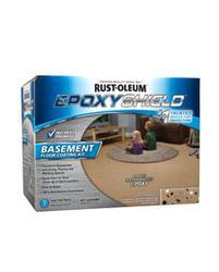 EPOXYShield Tan Basement Floor Coating Kit - 1 gal.