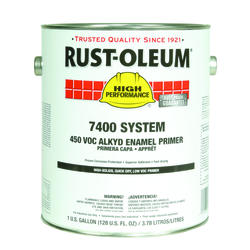 High Performance 7400 System Red Alkyd Enamel Quick Dry Primer - 1 gal.