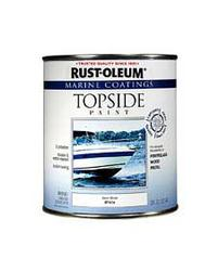 Rust-Oleum® Marine Coatings Semi-Gloss White Topside Paint - 1 qt