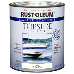 Rust-Oleum® Marine Coatings Oyster White Topside Paint - 1 qt