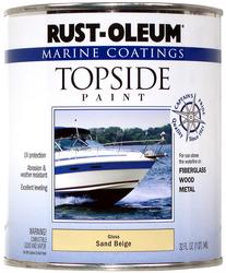 Rust-Oleum® Marine Coatings Gloss Sand Beige Topside Paint - 1 qt