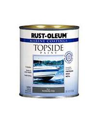 Rust-Oleum® Marine Coatings Gloss Battleship Gray Topside Paint - 1 qt