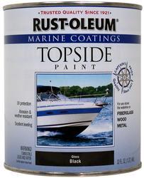 Rust-Oleum® Marine Coatings Gloss Black Topside Paint - 1 qt