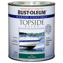 Rust-Oleum® Marine Coatings Deep Green Topside Paint - 1 qt