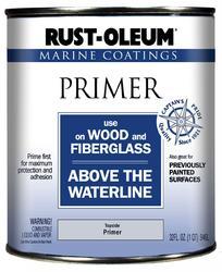 Rust-Oleum® Marine Coatings Wood & Fiberglass Topside Primer - 1 qt