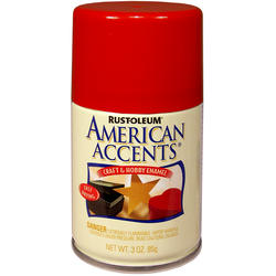Rust-Oleum® American Accents Gloss Apple Red Craft & Hobby Enamel Spray - 3 oz
