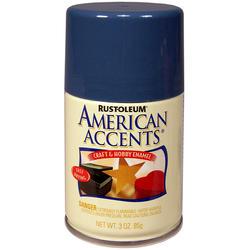 Rust-Oleum® American Accents Satin Wildflower Blue Craft & Hobby Enamel Spray - 3 oz