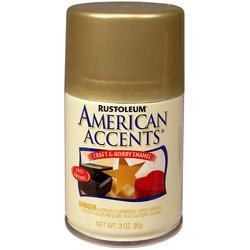 Rust-Oleum® American Accents Metallic Gold Craft & Hobby Enamel Spray - 3 oz