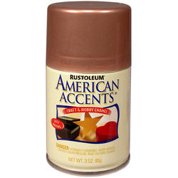 Rust-Oleum® American Accents Burnished Copper Craft & Hobby Enamel Spray - 3 oz
