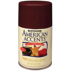 Rust-Oleum® American Accents Satin Claret Wine Craft & Hobby Enamel Spray - 3 oz