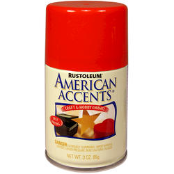 Rust-Oleum® American Accents Glow Orange Craft & Hobby Enamel Spray - 3 oz