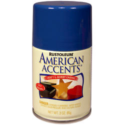 Rust-Oleum® American Accents Ocean Blue Craft & Hobby Enamel Spray - 3 oz