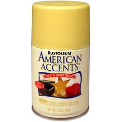 Rust-Oleum® American Accents Satin Buttercup Craft & Hobby Enamel Spray - 3 oz