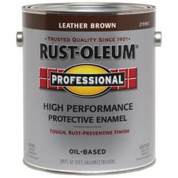 Rust-Oleum® Professional Leather Brown Low-VOC High-Performance Enamel - 1 gal.