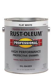 Rust-Oleum® Professional Flat White Low-VOC Oil-Based Enamel - 1 gal.