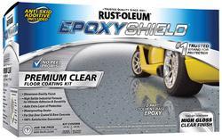 EPOXYShield Premium Clear Floor Coating Kit - 1 gal.