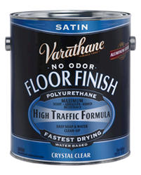 Varathane® Crystal Clear Stain Water-Based Floor Finish - 1 gal.