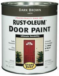 Rust-Oleum® Stops Rust® Dark Brown Door Paint - 1 qt