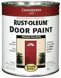Rust-Oleum® Stops Rust® Cranberry Door Paint - 1 qt