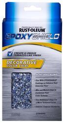EPOXYShield Decorative Blue Gray Blend Color Chips - 1 lb