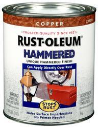 Rust-Oleum® Stops Rust® Hammered Copper Paint - 1 qt