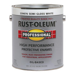 Rust-Oleum® Professional Semi-Gloss White High-Performance Enamel - 1 gal.