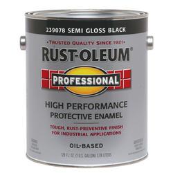 Rust-Oleum® Professional Semi-Gloss Black High-Performance Enamel - 1 gal.