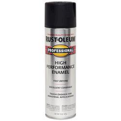 Rust-Oleum® Professional Black High-Performance Enamel Spray - 15 oz