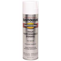 Rust-Oleum® Professional White High-Performance Enamel Spray - 15 oz