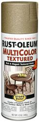 Rust-Oleum® Stops Rust® MultiColor Radiant Brass Textured Spray Paint - 12 oz