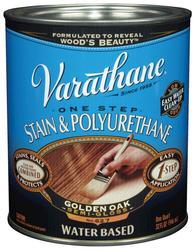 Varathane® One Step Golden Oak Water-Based Stain & Polyurethane - 1 qt
