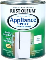 Rust-Oleum® Specialty Gloss White Appliance Epoxy - 1 qt