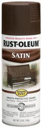 Rust-Oleum® Stops Rust® Satin Dark Brown Protective Enamel Spray - 12 oz