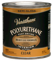 Varathane® Semi-Gloss 275-VOC Oil-Based Interior Polyurethane - 1/2 pt