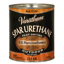 Varathane® Clear Satin Outdoor Spar Urethane - 1 qt