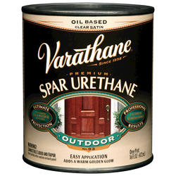 Varathane® Clear Satin Outdoor Spar Urethane - 1 pt
