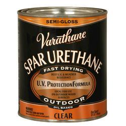 Varathane® Clear Semi-Gloss Outdoor Spar Urethane - 1 qt