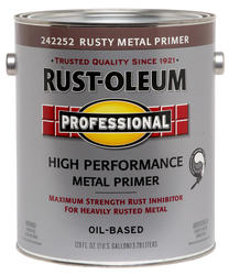 Rust-Oleum® Professional Flat Red High-Performance Rusty Metal Primer - 1 gal.