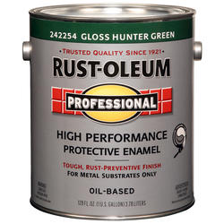 Rust-Oleum® Professional Gloss Hunter Green High-Performance Enamel for Metal - 1 gal.