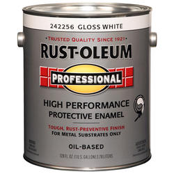 Rust-Oleum® Professional Gloss White High-Performance Enamel for Metal - 1 gal.