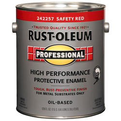 Rust-Oleum® Professional Safety Red High-Performance Enamel for Metal - 1 gal.