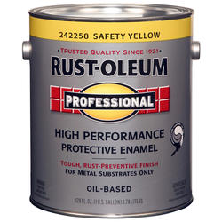 Rust-Oleum® Professional Safety Yellow High-Performance Enamel for Metal - 1 gal.