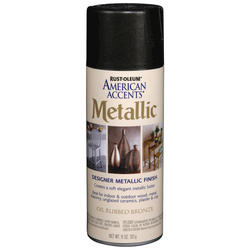 Rust-Oleum® American Accents Metallic Oil-Rubbed Bronze Spray Paint - 12 oz