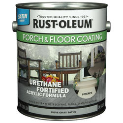 Rust-Oleum® Satin Dove Gray Porch & Floor Coating - 1 gal.